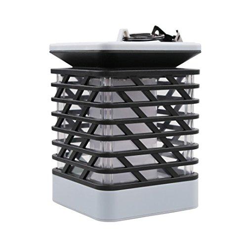 Solarleuchten,Jaminy Solar Flamme Lampe LED Feuer Licht Realistisch Wasserdicht Lampe Outdoor Garten D FÜR Garn, Balkon, Landschaft