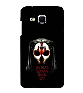 EPICCASE I'm Dead wanna hookup Mobile Back Case Cover For Samsung Galaxy J3 (Designer Case)