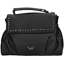 TWINSET S.p.A. RA8PAA 00006 Nero My Twin Accessori Coll Bag Donna f8d7bac6ae8
