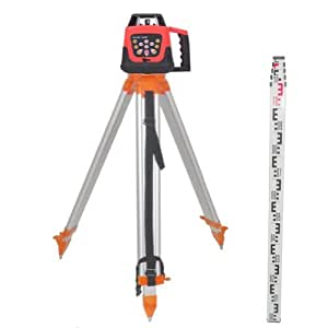 Sanven Tripod 5m Staff Rotary Laser Level Fully