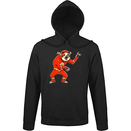 Flash from Zootopia Parody as Superhero - Comics Hooded Sweatshirt - Funny Hoodies