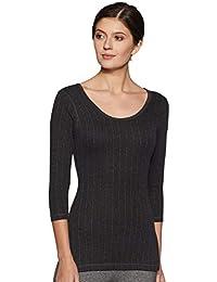 Dixcy Scott Slimz Women's Thermal Plain Slim Fit Tops (Pack of 1)