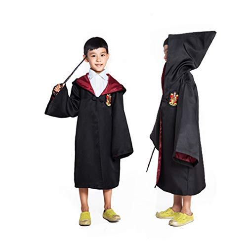 KAKAFASHION Cosplay Magic Robe Umhang Dreamland Game Suit Halloween Maskerade Bühne Performance Kostüm 115-185 cm