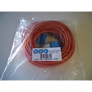 Caravan Electric Hook Up Cable,Camping Electric Hook Up Lead,Heavy Duty 25m