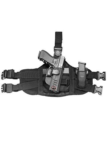 Fobus neu Oberschenkelapater EXND 2 Pistolenhalfter Plattform Passend für alle Fobus Paddle Holster und Einzelmagazintasche