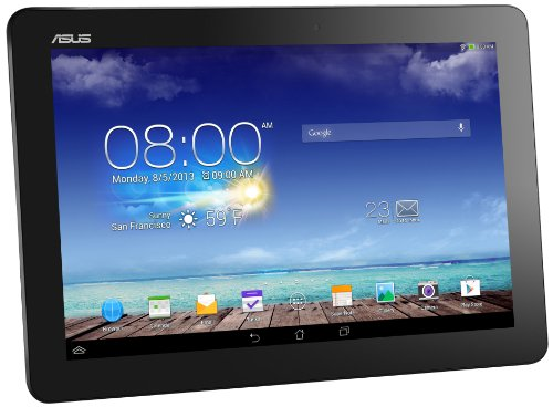 Asus Memopad 10 ME102A 25,40 cm (10 Zoll) Tablet PCs (Asus RK101 CPU 1,6Ghz Quad-core, 1GB RAM, 16GB HDD, Mail400 MP4, Android Touchscreen) grau