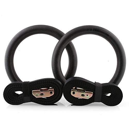 shuntian Gymnastikringe für den Oberkörper Krafttraining Übung Pull Ups Gym Rings Crossfit