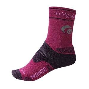 bridgedale women's wool fusion trekker cuped new style socks