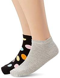 Happy Socks – Bunt gemusterte Casual Low Socken im 2er Pack für Damen und Herren