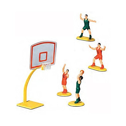 Kit Spieler Basketball Cake Topper-Kit in Kunststoff-Dekoration Kuchen