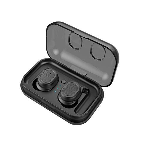 Gszfsm001 Bluetooth 5.0 Kabelloses Headset, Ohrbügel mit Touch-Sensor-Taste, wasserdicht Schwarz
