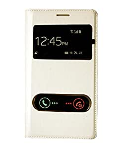 YGS Flip Cover Case for Samsung Galaxy Note 2 n7100 White