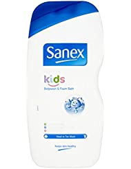 Sanex Dermo Kids Body Wash and Foam Bath, 500 ml