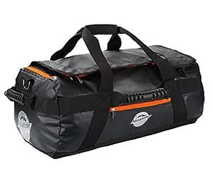 aquabourne tasman seesack reisetasche sporttasche 38 liter 55x35x25cm schwarz. Black Bedroom Furniture Sets. Home Design Ideas