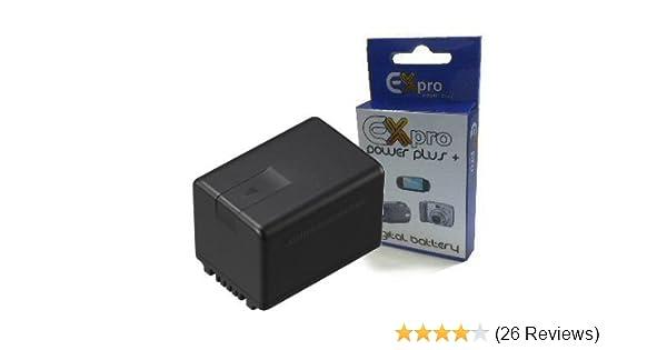 Ladegerät für Panasonic VW-VBK180 VBK180E VBK360 HS60 S50 S70 SD90 SD99 TM90