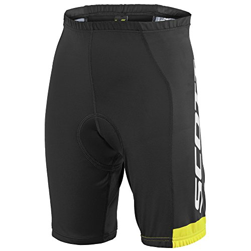 Scott RC Pro Junior Kinder Fahrrad Hose kurz schwarz/gelb Nino Design