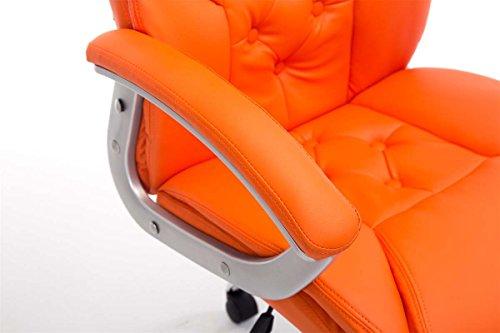 Sedie Da Ufficio Arancione.Clp Comoda Sedia Da Ufficio Rodeo Xxl Sedia Da Ufficio Girevole E