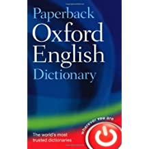 Paperback Oxford English Dictionary: 120 000 words, phrases, and definitions. Spelling-notes, Factfinder