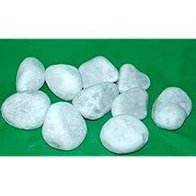 10piedras decorativas, piedras decorativas) para chimenea de gel y etanol Blanco bioetanol