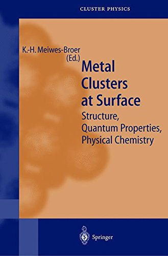 Metal Clusters at Surfaces. : Structure, Quantum Properties, Physical Chemistry