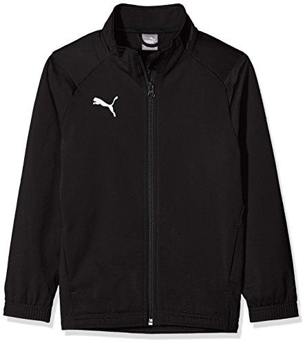 PUMA Jungen Liga Sideline Poly Jacket Core Jr Jacke, Black White, 164 (Puma Kleidung Für Jungen)