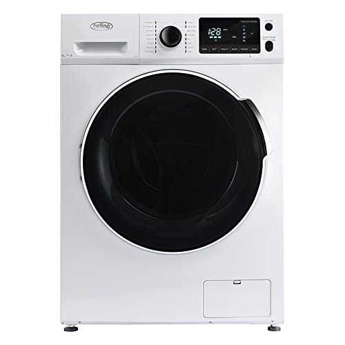 Belling FWD8614 8kg Wash 6kg Dry 1600rpm Freestanding Washer Dryer-White