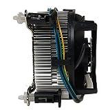 Intel Quad CPU Kühler Sockel 775 Kupferkern