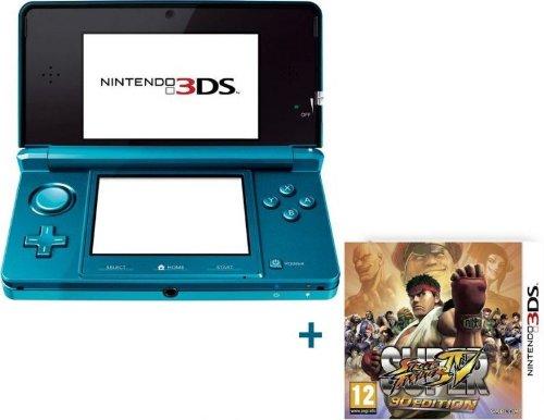 NINTENDO 3DS BLEUE LAGON+SUPER STREET FIGHTER IV