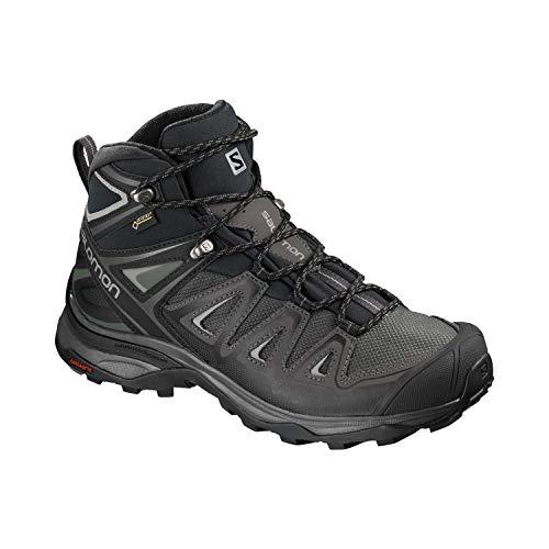 Salomon X Ultra 3 Mid GTX Trail Laufschuh Damen dunkelgrau/schwarz, 8.5 UK - 42 2/3 EU - 10 US