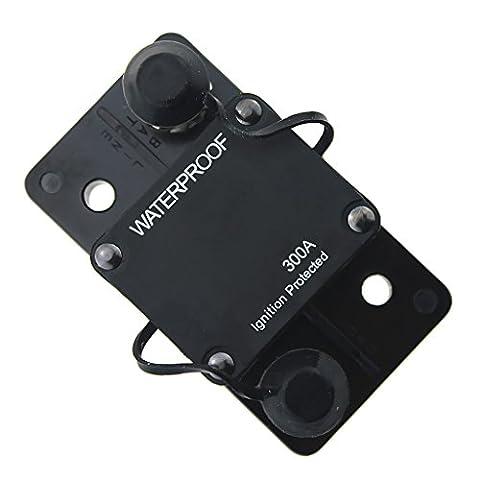 MagiDeal 300A Disjoncteur Avec Réinitialisation Manuelle Sectionner De Puissance Boîte À Fusible Montage Contacteur