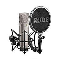 ميكروفون NT1-A-MP ستيريو استوديو صوتي مكثف كارديويد من رود، زوج متطابق