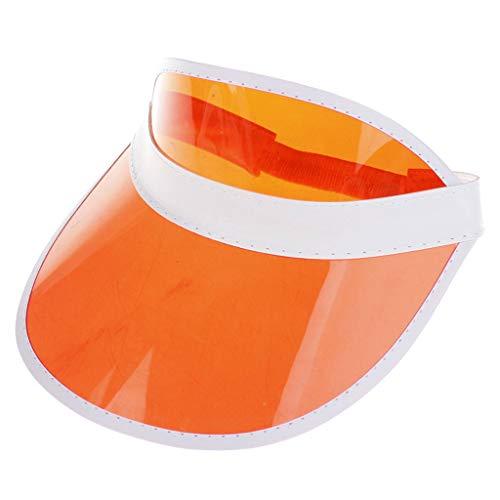 VRTUR Sonnenblende Hat Retro Visor Cap Pub Golf Neon Party Hirsch Rave Dance Gap Haarband Sonnen Visier Sonnenhut Sonnenschutz Mütze ()