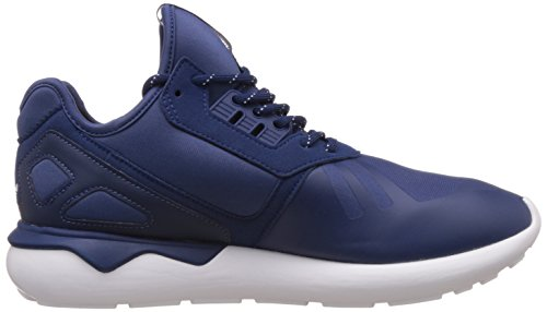 adidas Tubular Runner, Baskets Basses Homme Bleu/jaune/blanc
