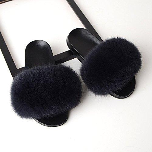 Gpf pantofole delle signore di modo delle donne di estate delle pantofole comode scarpe sveglie della ragazza,2,37~38