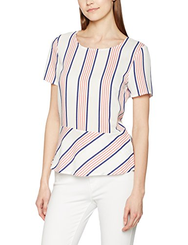 More & More Bluse, Blouse Femme Mehrfarbig (Mehrfarbig (Offwhite Multicolor 3041) 3041)