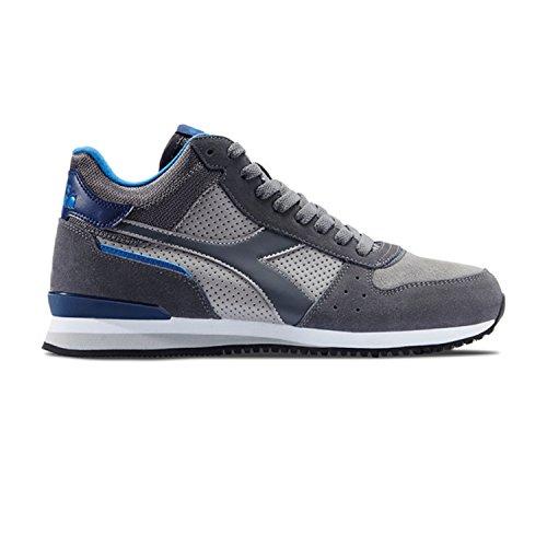 Diadora Malone Mid S, Sneaker a Collo Basso Uomo 75067 - GRIGIO PALOMA