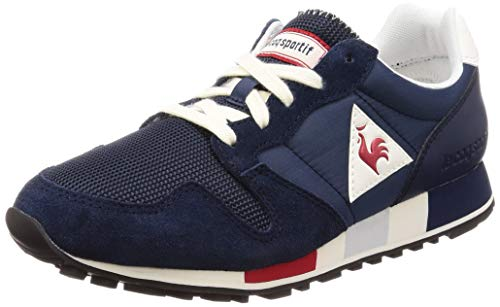 Le Coq Sportif Scarpe Omega Nylon 1820704 Dress Blue Uomo Moda Casual Sneakers