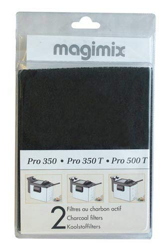 Magimix-Filtro Carbón X 2Blister freidora Mag-17027para Pieces de horno pequeño Electromenager...
