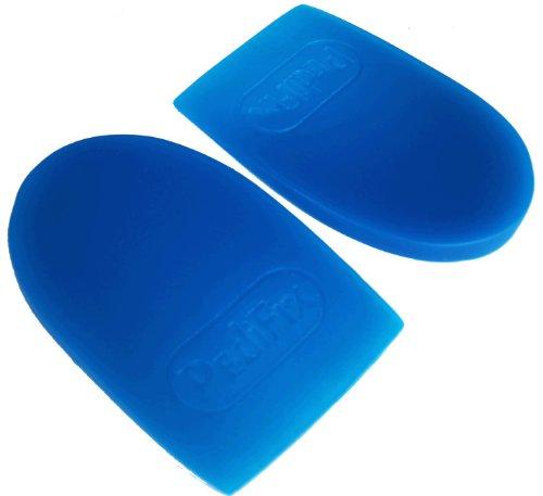 (2 Paar) Medipaq® GEL Fersenpads - Polstern & massieren sie ihre Fersen mit jedem Schritt - Plantar Fasciitis - Plantar Fasciitis -