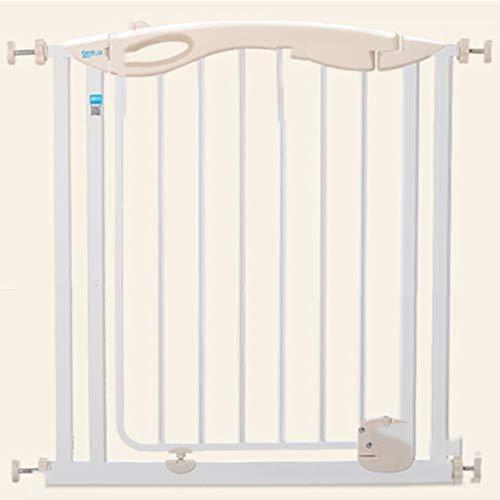 HULAN Porte de sécurité d'enfant, porte 750X790 × 20mm d'isolation de balcon de barrière de Polonais de chien de clôture de clôture pour animaux de compagnie de barrière de protection d'escalier de bé