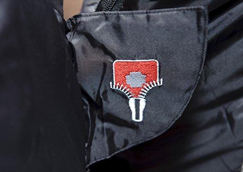 Grüezi+Bag Erwachsene Mumienschlafsack Cow RV Links, Schwarz, 40 x 23 x 23 cm, 7800 - 3