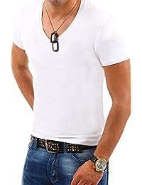MT Styles - BS-500 - T-shirt avec col en V profond