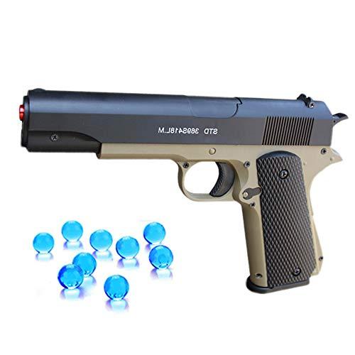 CCL Al Aire Libre Juguetes Pistola de plástico, Pistola de Bala Suave de Agua de Aire comprimido Gel Bolas Cuentas Francotirador Juguetes de niño cumpleaños Regalos