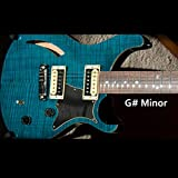 Chill Mellow Groove Guitar Backing Track in G# Minor