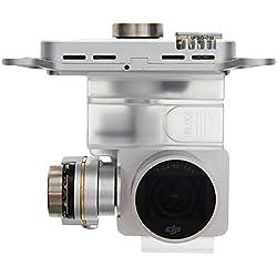 DJI Phantom 3 Professional - 4K Gimbal Camera - caméras suspendues (4K Ultra HD, 4000 x 3000 Pixels, Gris, 4096 x 2160 Pixels, DNG, JPG, 1280 x 720,1920 x 1080,3840 x 2160,4096 x 2160 Pixels)