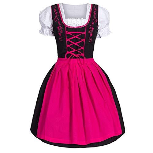 MMOOVV Anime Mädchen Kostüm Cosplay Mädchen Größe Kleid Mode Anime Kostüm niedlich Rollenspiel Kleid (Rosa 5XL)