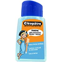 Cleopatre - CMC80P - Marine - Pegamento azulada especial parvulario - Frasco de 80 gr