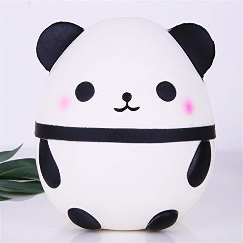 (Kongqiabona Anti-Stress Squishy Simulation Weißer Panda Langsam Rebound Spielzeug Lustige Infant Squeeze Exquisite Sammlung Stofftier Kinder)