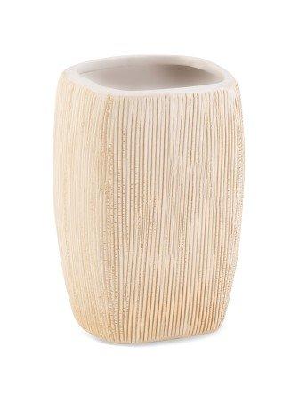 Zahnputzbecher Becher Graffio Keramik Ø5,5cm, 10,5cm hoch