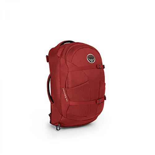 Osprey Herren Travel Pack Farpoint 40, Jasper Red, S/M, 5-503-2-1